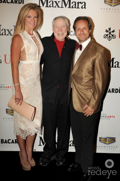 Sarah Arison, Jacques d'Amboise, & Paul Lehr