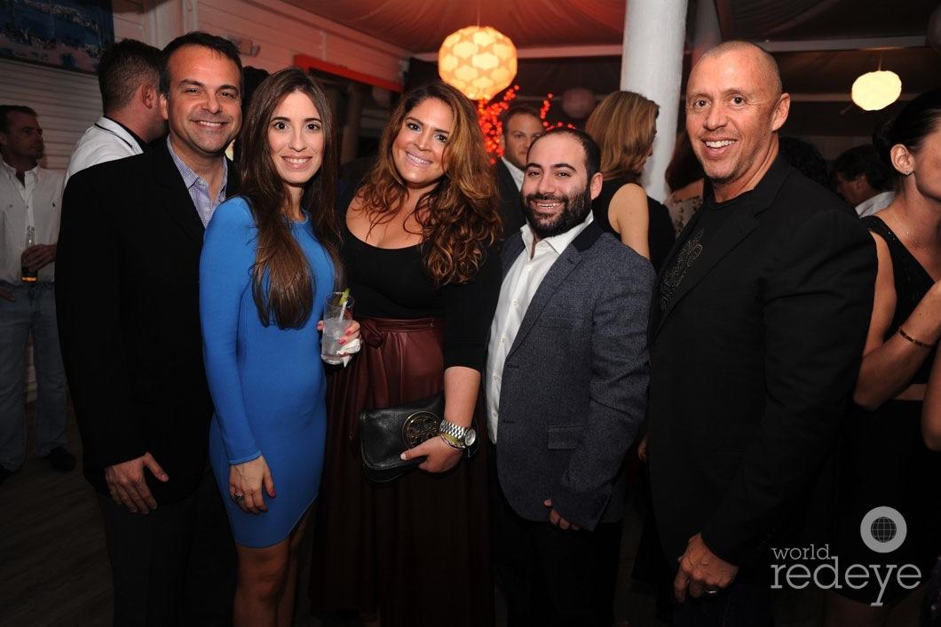 Jorge Plasencia, Maithe Gonzalez, Carolina Guerrero, Jose Paz, & Carlos Navarro