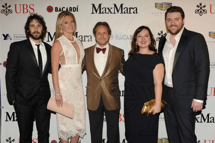 Josh Groban, Sarah Arison, Paul Lehr, Zuzanna Szadkowski, & Chris Young