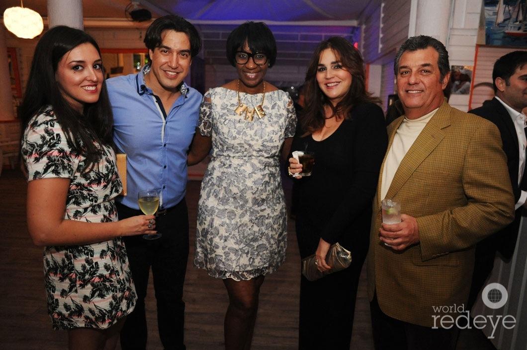 Andres Asion, Wendy Grant, Lourdes Balls, & Felipe Balls