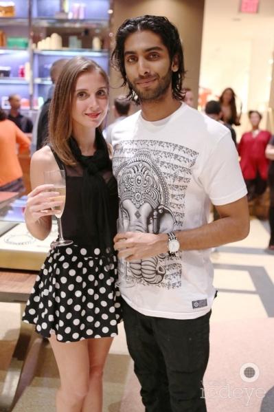 Elisa Larrea & Abhinav Gautam