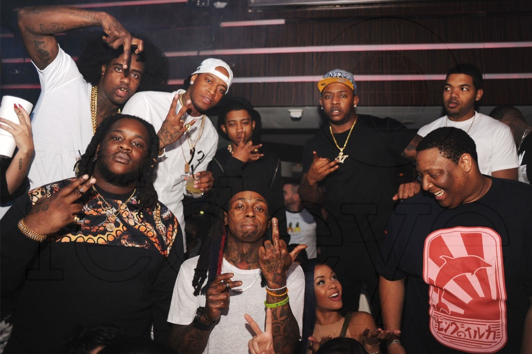 Photo of O.T. Genasis & his friend musician  Lil Wayne -