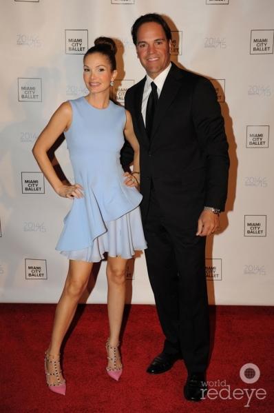 Alicia & Mike Piazza