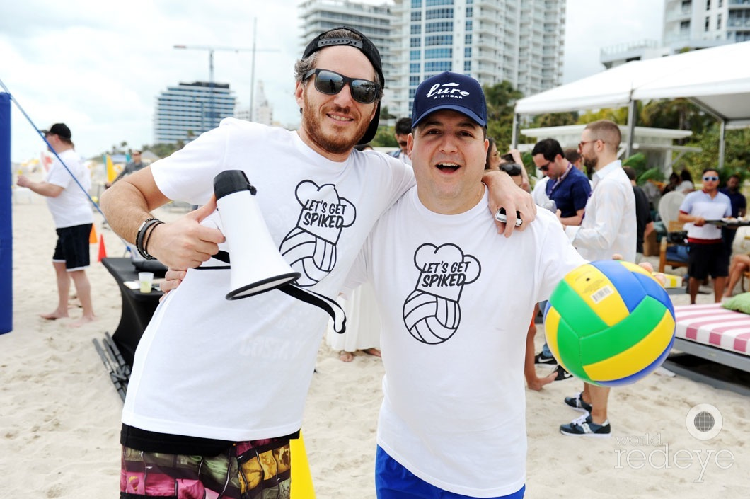 1-Spike Mendelson & Josh Capon
