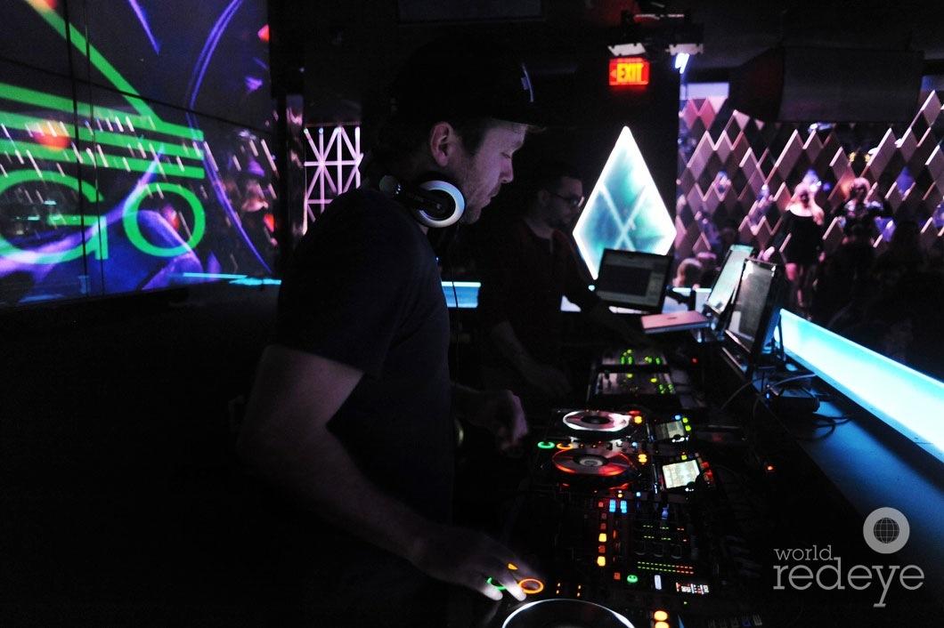 18- Mike Mago DJing