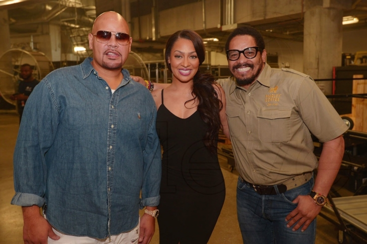 Fat Joe, Lala Anthony, & Rohan Marley