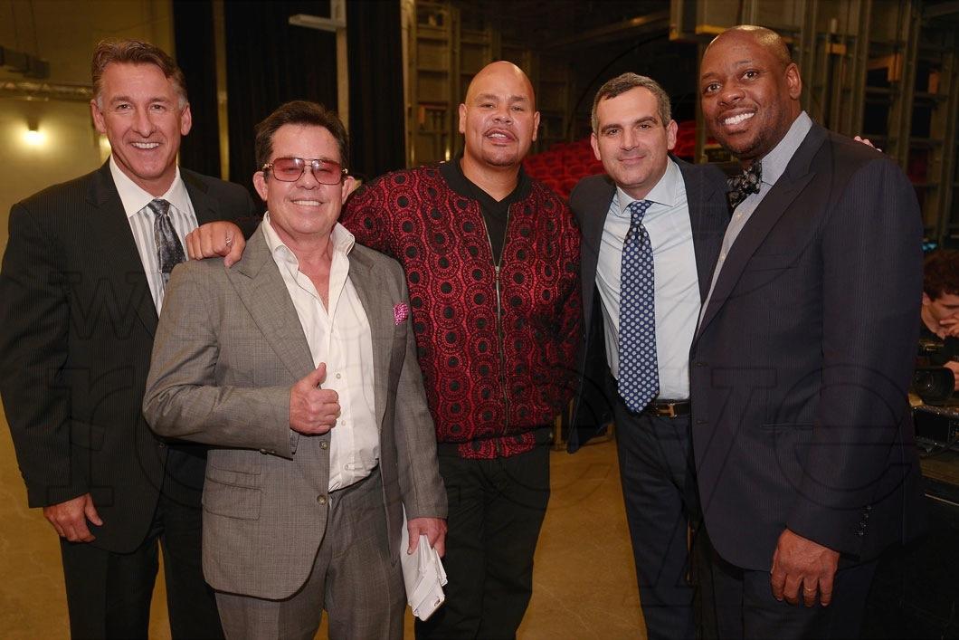Jim Winkler, JR Ridinger, Fat Joe, Andrew Weissman, & Bishop Jordan
