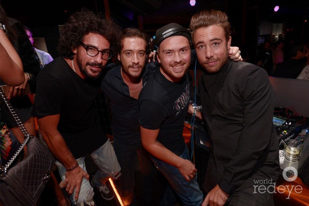 Sacha Muki, Rudy Ravot, Nico de Andrea, & Hugo M