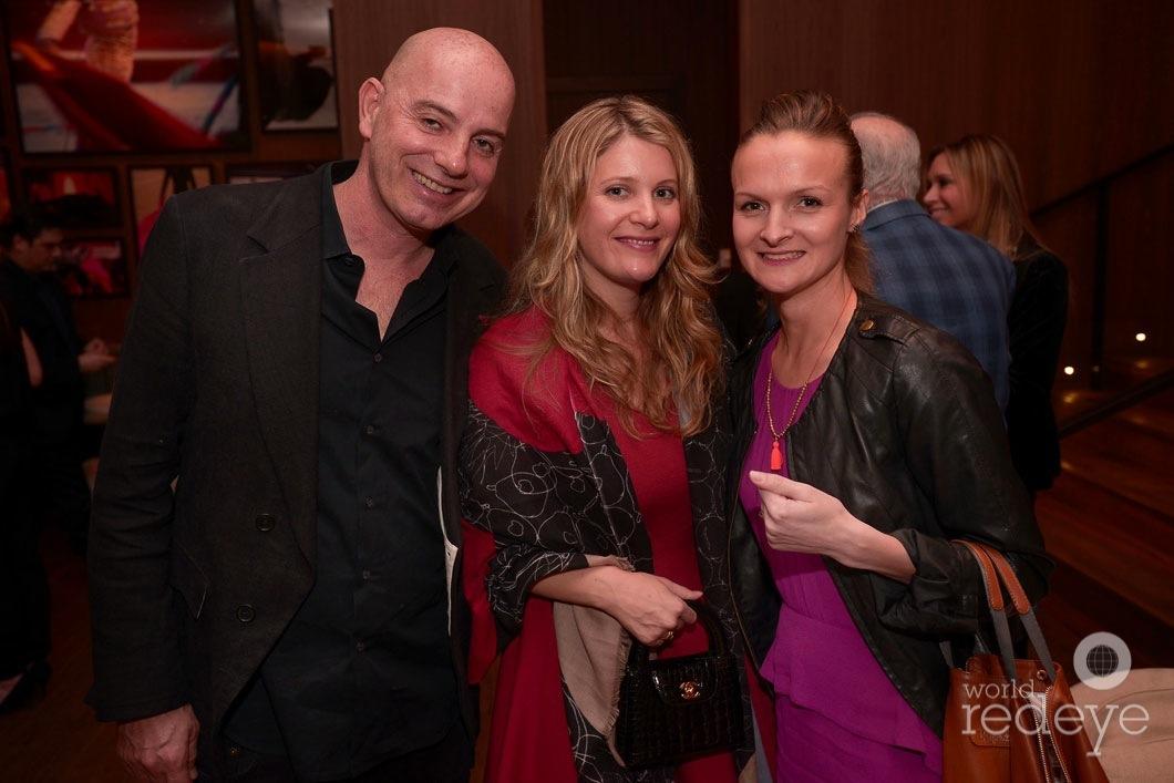 Frank Strausser, Dorrie Strausser, & Cindy le Corre