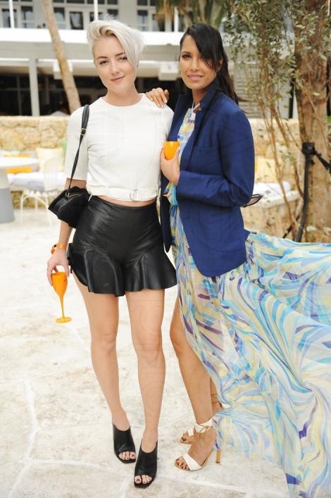 60-Amanda Del Duca & Padma Lakshmi