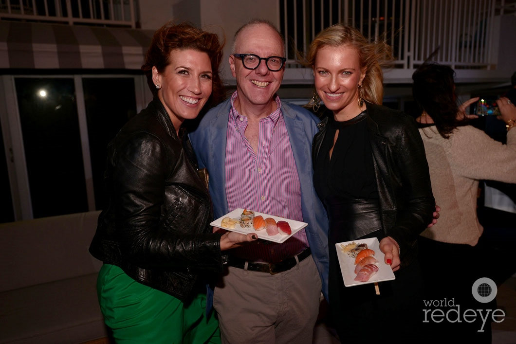 Catherine DeOrio, Mark Stone, & Marlene Leslie