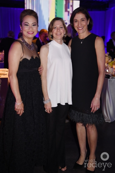 Mariam Davis, Jill Eraufman, & Lourdes Lopez