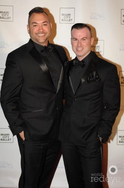 Tedd & Justin Trabert