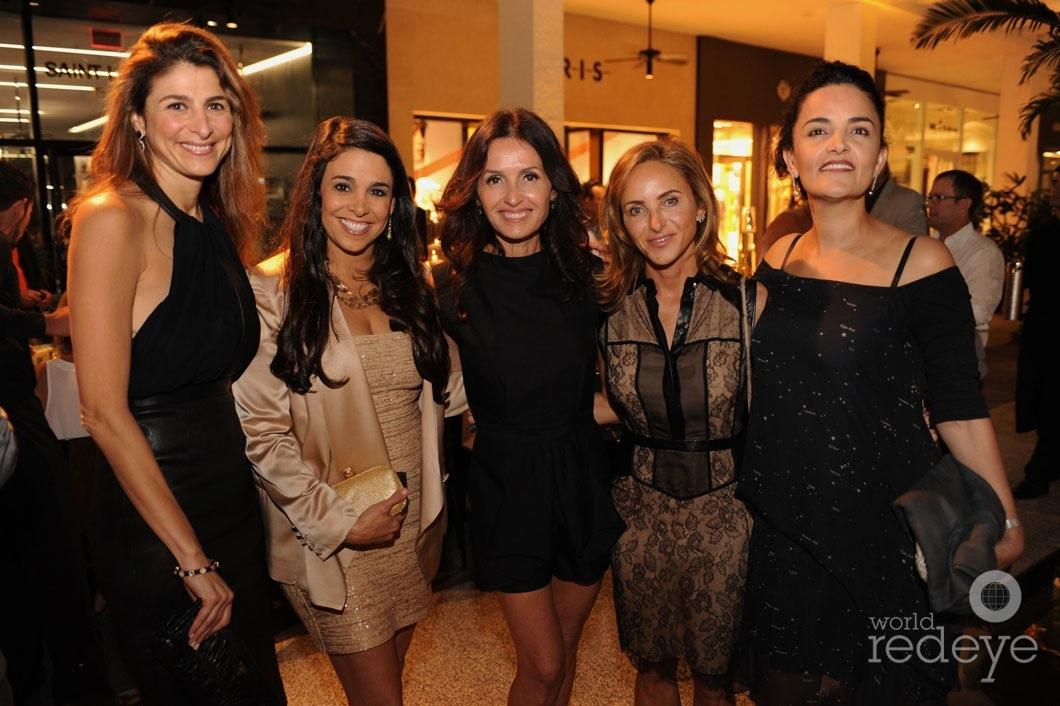 16-Lisa Sayfie, Stephanie Sayfie Aagaard, Alina Shriver, Monika Kalpakian, & Suzie Wahab