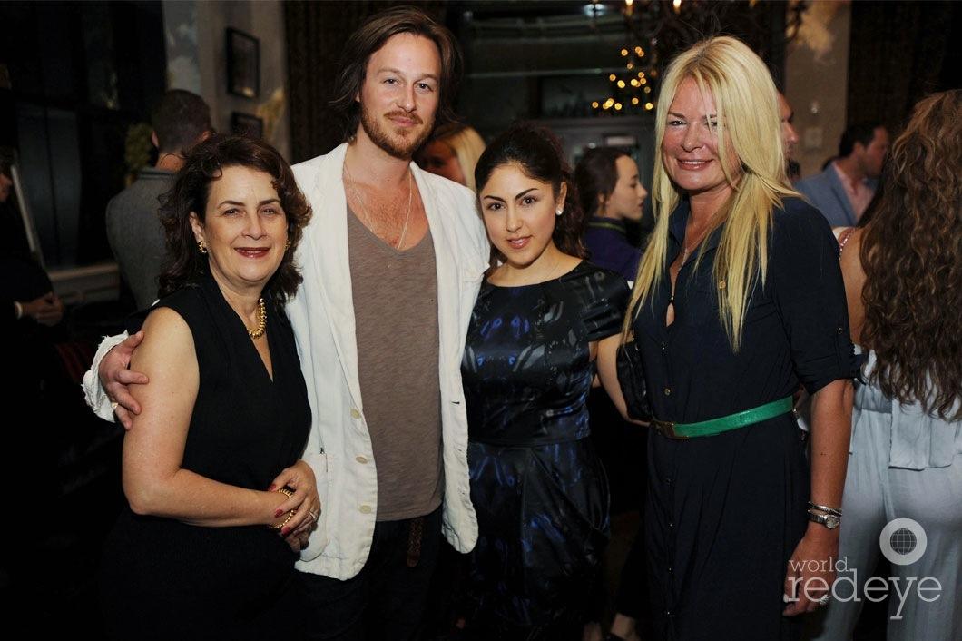 Veronica & Cameron Cervera, Bahar Bayraktar, & Nathalie Goulet