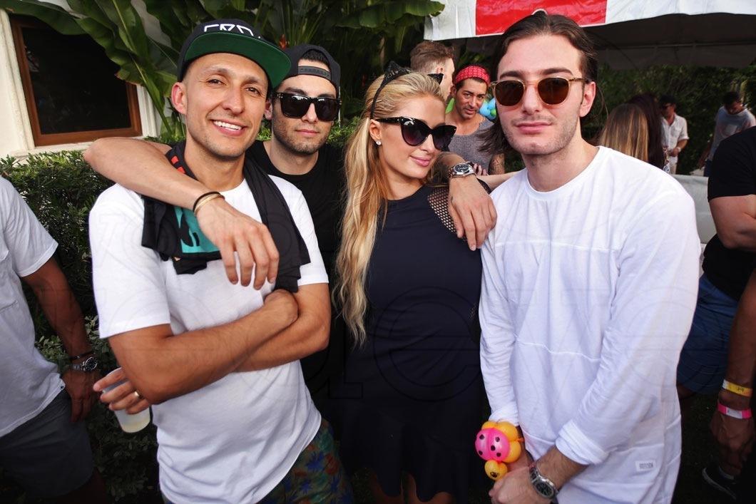 2-DJ Vice, Jared Garcia, Paris Hilton, & Alesso