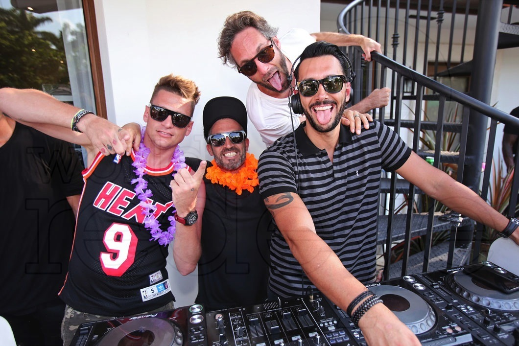 23-Jimmy Greenup, Chef Sylvain, Seth Browarnik, & Cedric Gervais