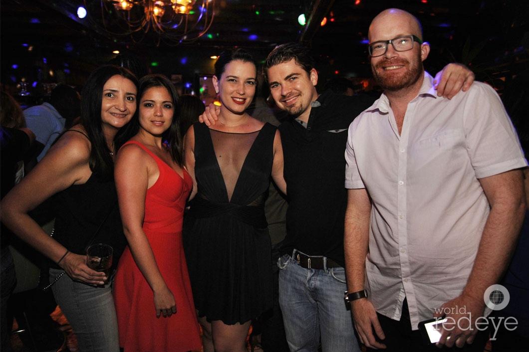 23- Lisa Alvarez, Mirna Rodriguez, Rita Suarez. Anton Z, & Friend_new