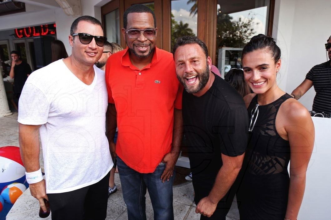 23.3-Chris Paciello, Uncle Luke, Dave Grutman, & Isabela Rangel
