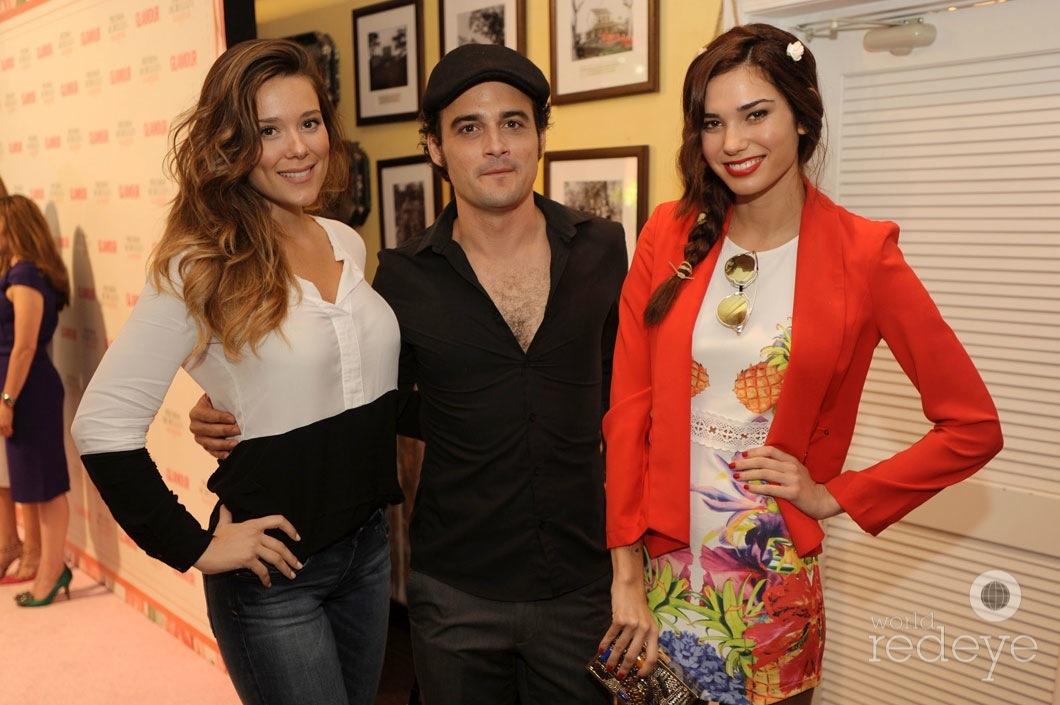 24--Lorena Gomez, Ariel Texido, & Rachel Vallori