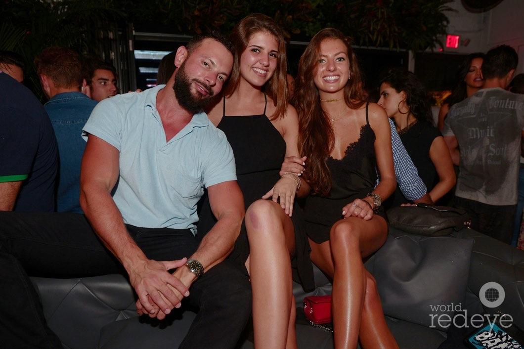 Nicholas Spanos, Giulia Ronc, & Tatiana Seik