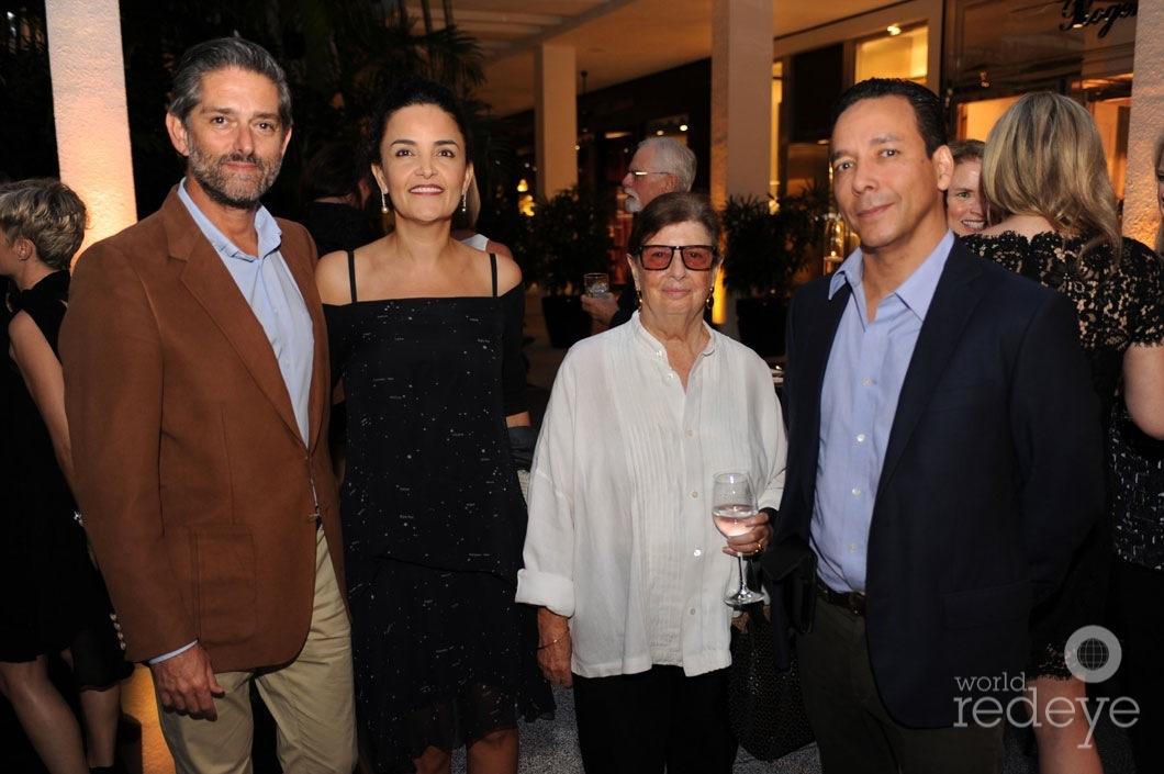 25.6-Walid & Susie Wahab, Nan Bush, & Pablo Alfaro