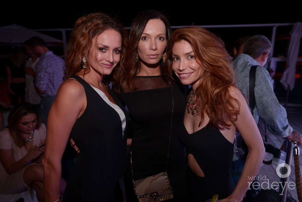 Catalina Martinez, Sorah Daiha, & Grissell Tudisco