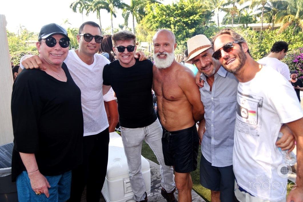 41-Michael Dreiling, Chris Paciello, Francis Milon, Moe Garcia, David Resnick, & Seth Browarnik