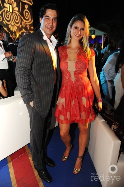 Andres Asion & Luiza Chiminacio