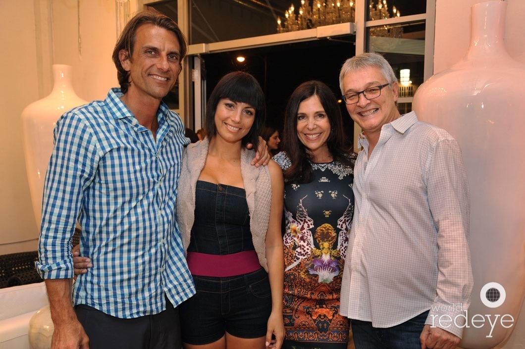 John Zygnuntowicz, Carolina Zygnuntowicz, Vivianne del Rio, & Cristian del Rio
