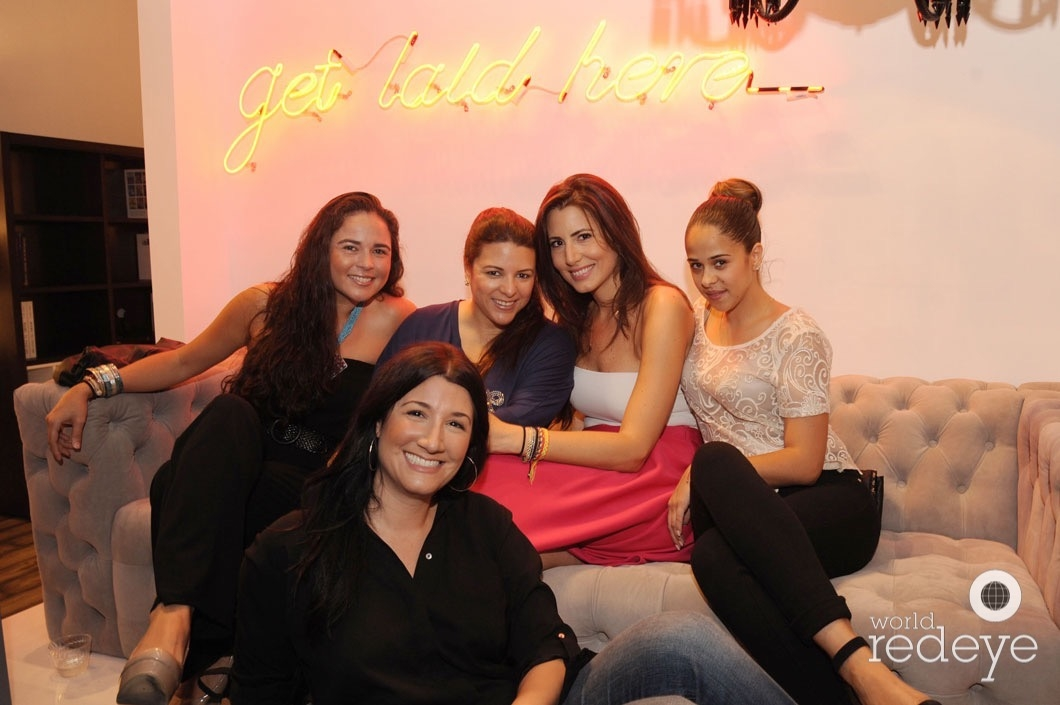 Angela Bradley, June Cuadra, Fabiana Kulick, Paula Moscoso, & Iris Marante