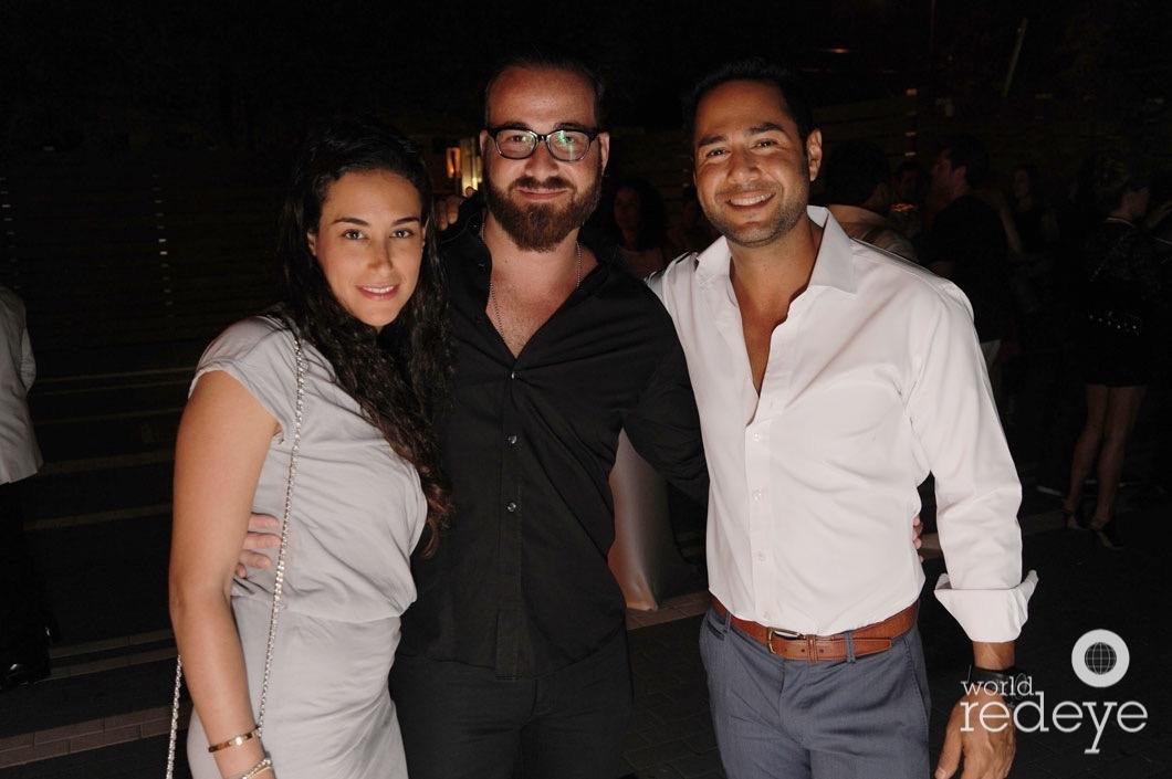 46-Diana Chousleb, Elias Chousleb, & Karim Abud