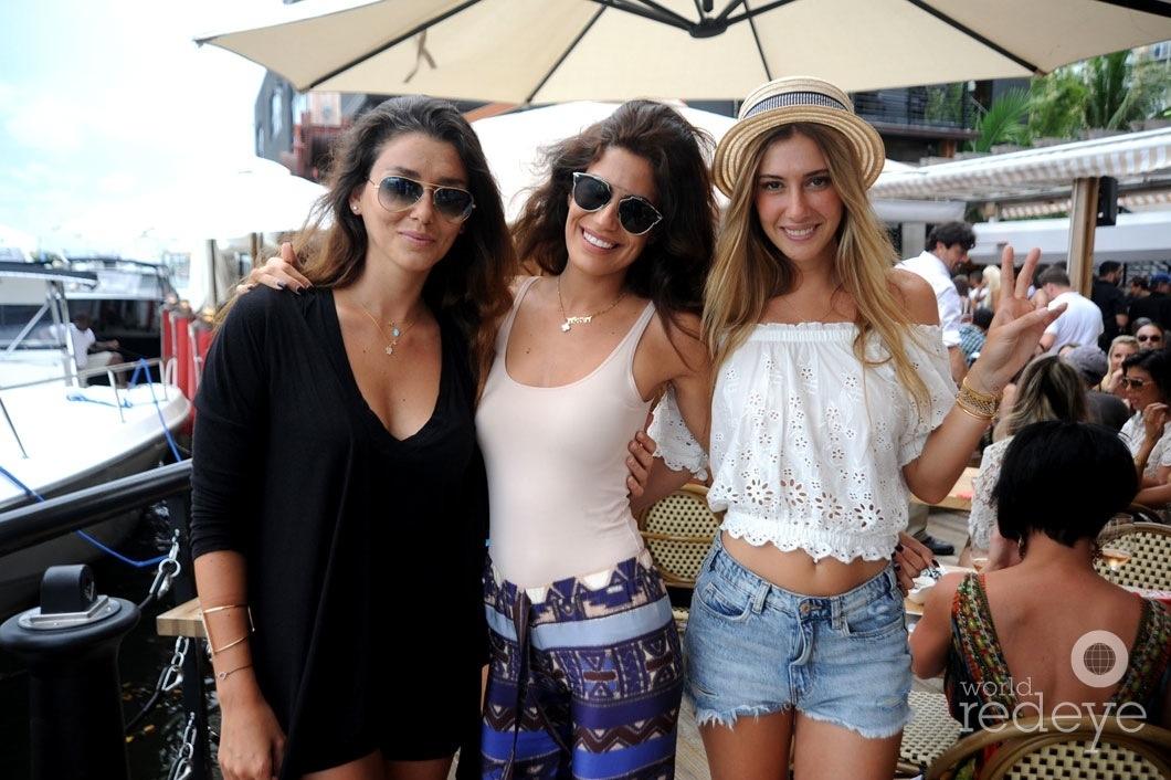 4-Selda Car, Danielle Hamo & Seyma Subasi