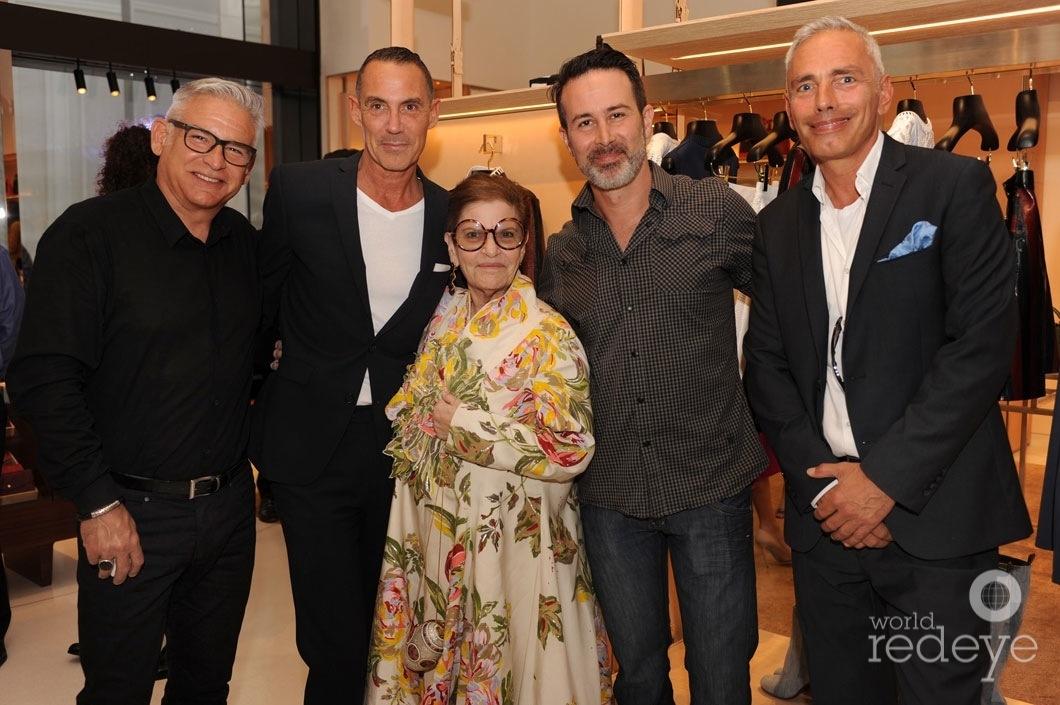 30-Enrique Gomez de Molina, Eric Domege, Bernice Steinbaum, Troy Abbot, & Cristian Roth