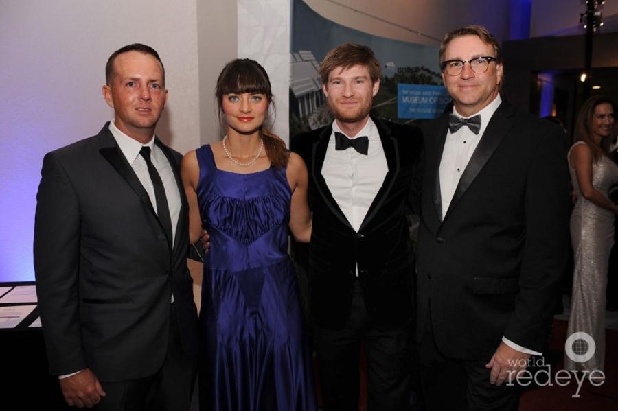 Justin Dye, Anna & Jon Batchelor, & Scott Voelker