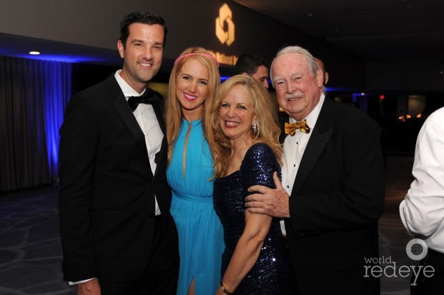 Ed Johnson, & Lena, Natasha, & Jack Lowell