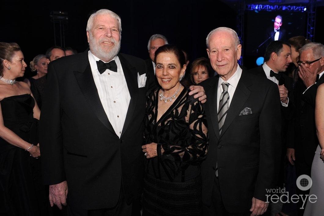 6-David Frankel, Patricia & Phillip Frost
