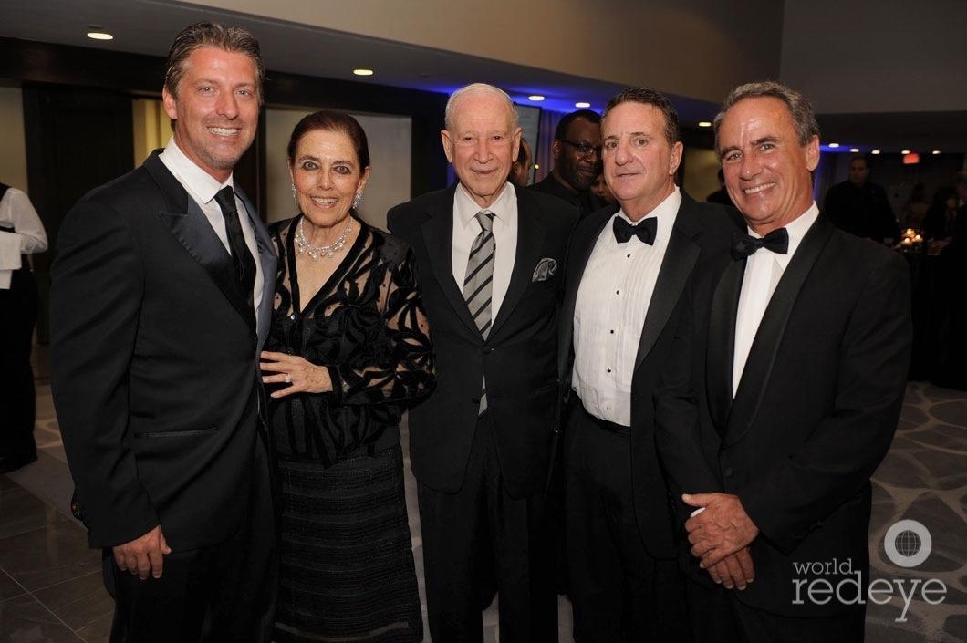 66-Michael Simkins, Patricia & Phillip Frost, Jerry Jacobs, & Eldredge Biff Bermingham
