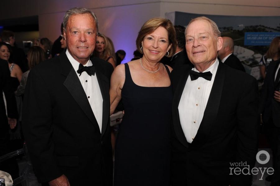 Peter & Pam Mettler, & Bill Meyersohn