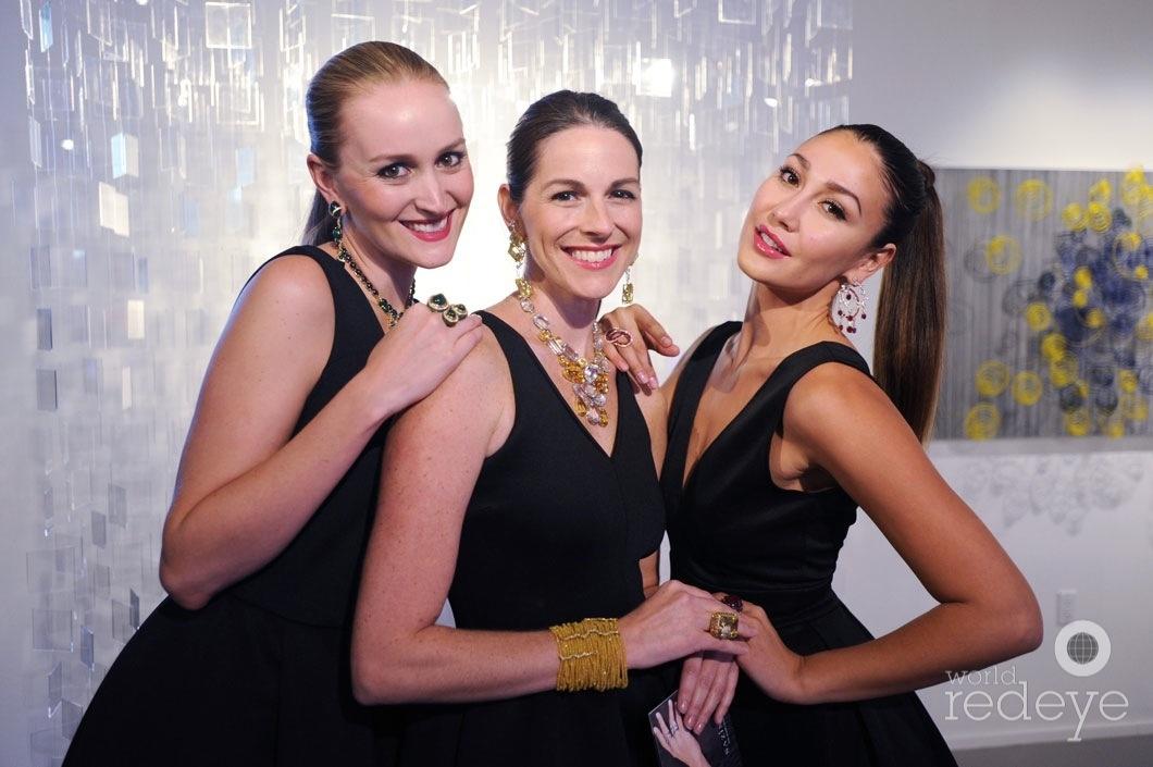 Amanda Lewis, Katie Martinez, & Raysa Peres
