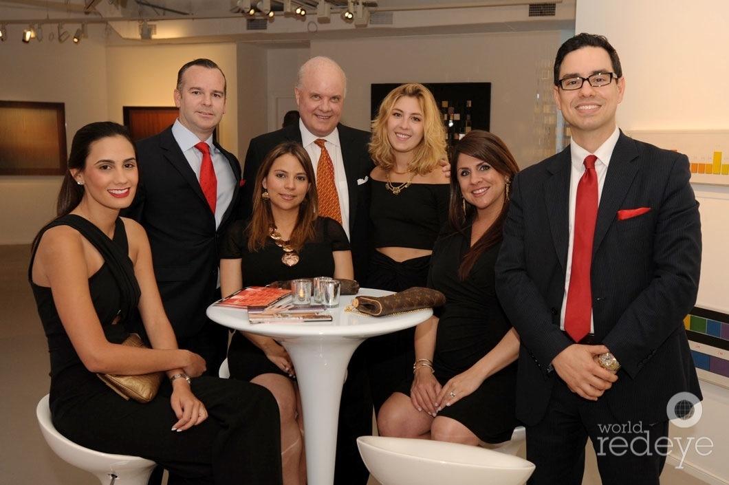 32.6-37-Claudia Camero, Pedro Montoya, Ana Carvajal, Jim Butler, Joey Butler, Karyn Soroa, & Jose Luis Garcia