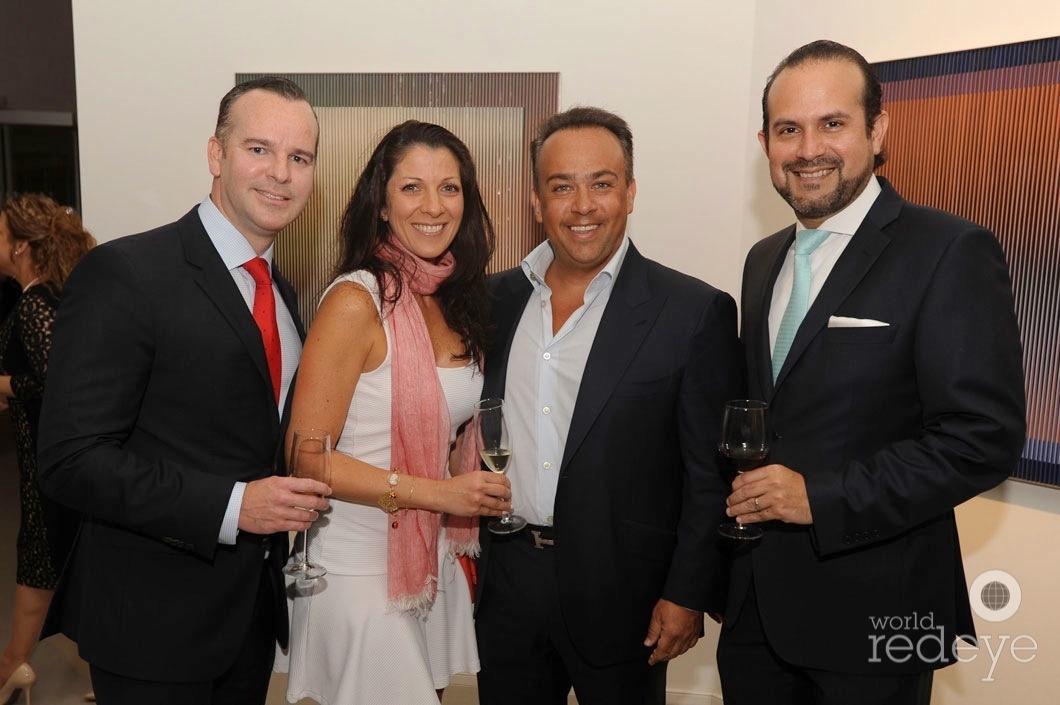 Pedro Montoya, Lisette de Marcacci, Francesco Marcacci, & Jorge Maquilon