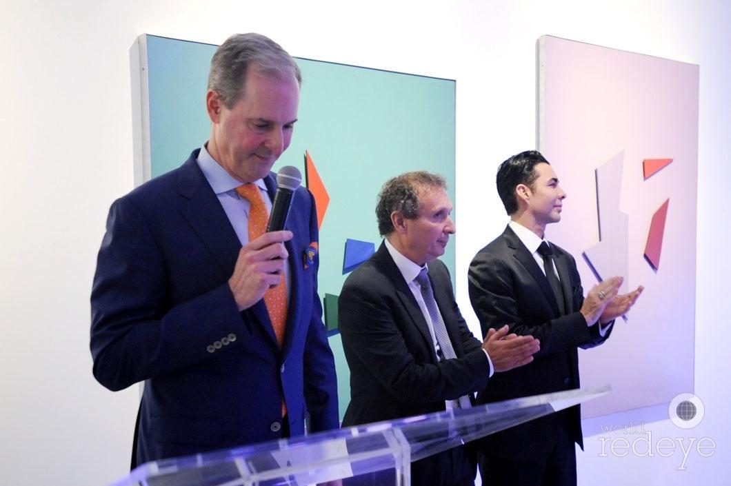 7-Andres de Corral speaking, Daniel Maman, & Nicolas Felizola