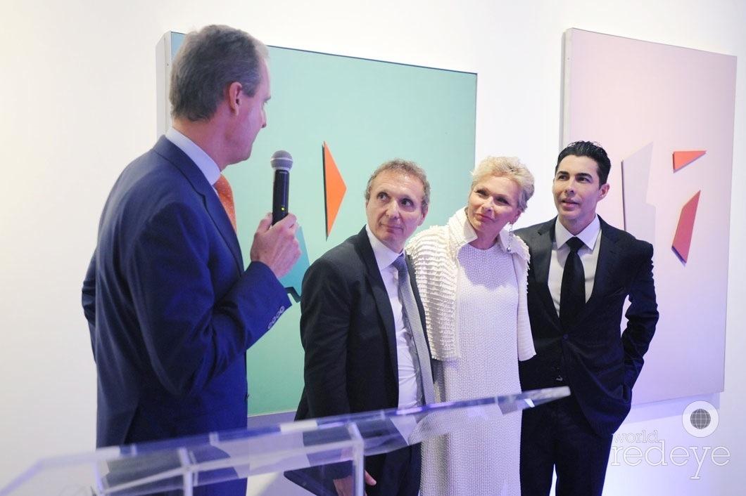 8-Andres de Corral speaking, Daniel Maman, Irene Zingg, & Nicolas Felizola