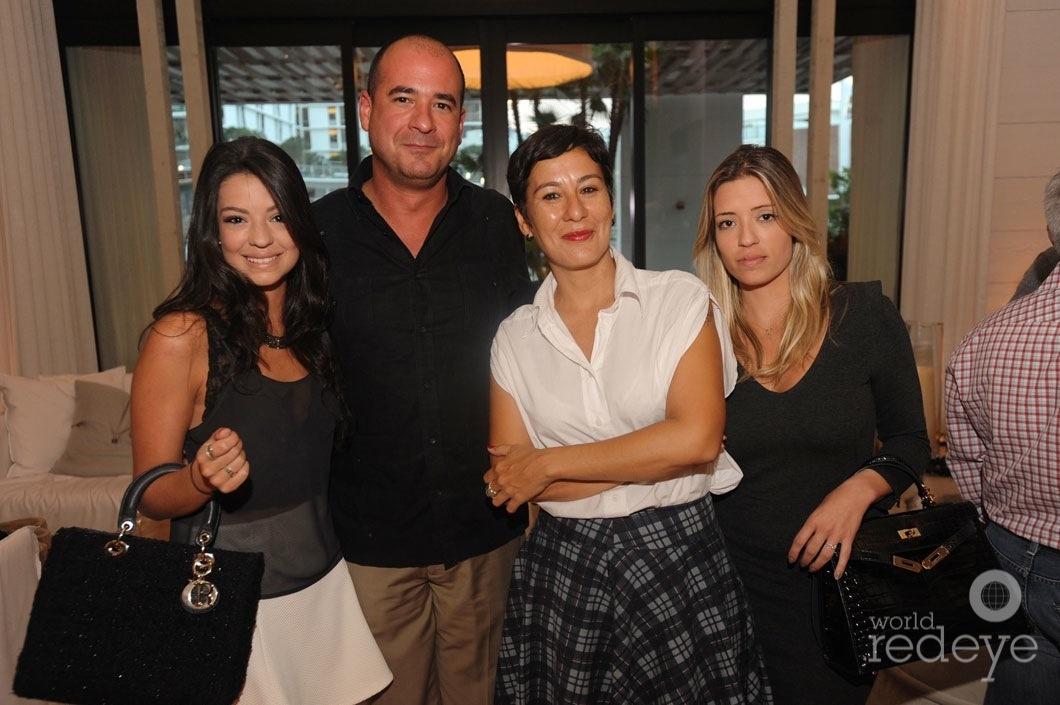 Julia Saraiva, John Sosa, Thais Fontenele, & Camilla Saraiva