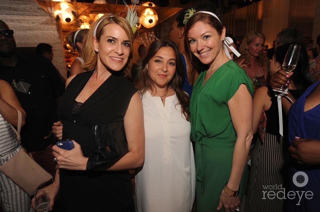 Liza Watson, Angela Ippolito, & Marcia Martinez