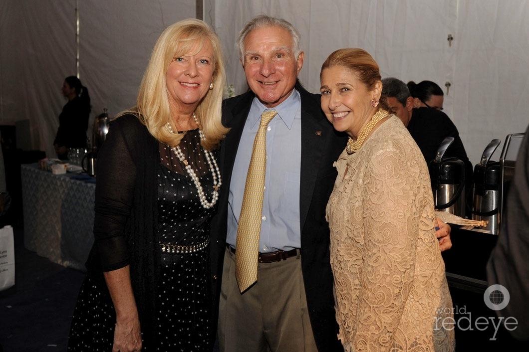26-Lynn Buoniconti, Nicholas Buoniconti, & Susie Sayfie