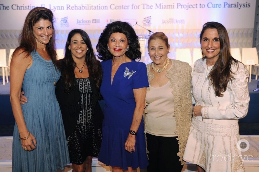 27-Lisa Sayfie, Stephanie Sayfie Aagaard, Christine E Lynn, Susie Sayfie, & Amy Sayfie Zichella