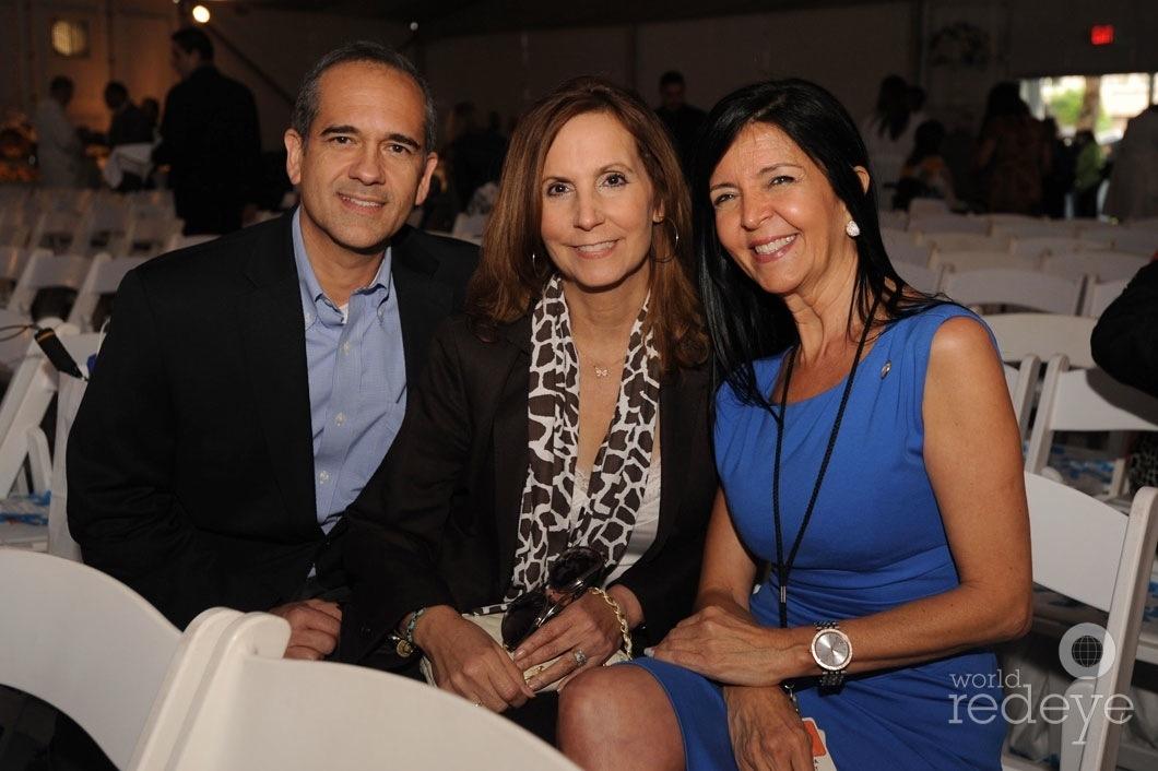 32-George Torres, Carmen Chediak, & Teresa Arcai