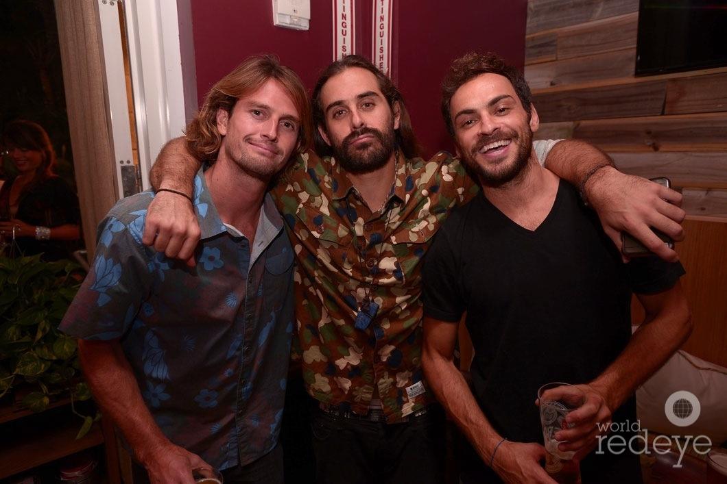 Ryan Heavyside, Los de la Vega, & Paulo Cardoso